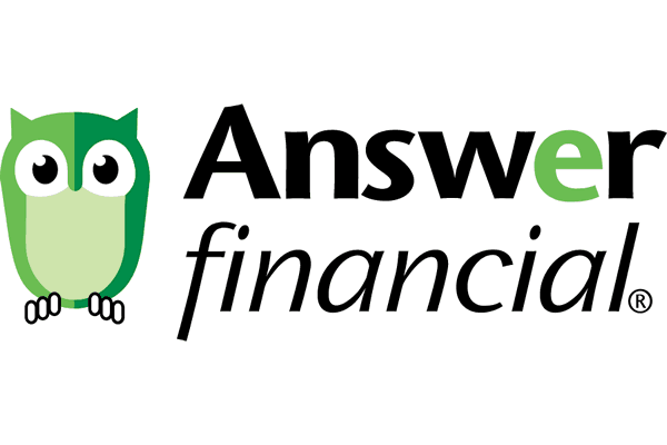 Answer Financial Logo Vector PNG