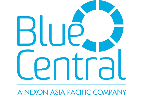 Blue Central Logo Vector PNG