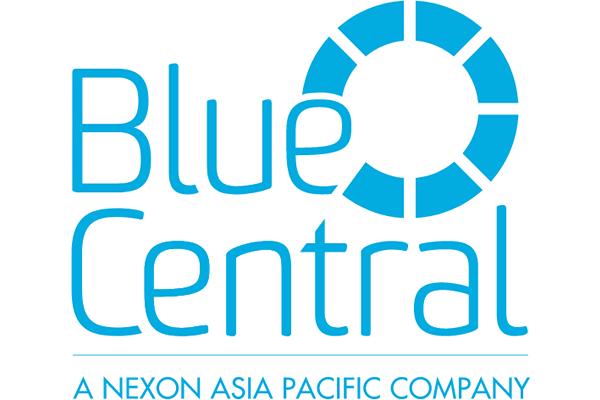 Blue Central Logo Vector PNG