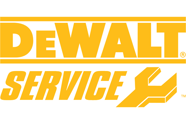 DEWALT Service Logo Vector PNG