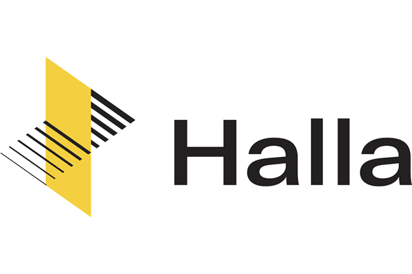 Halla Logo Vector PNG