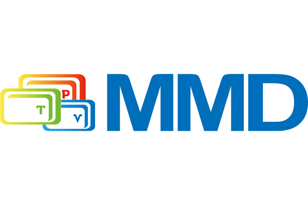 MMD (Multimedia Displays) Logo Vector PNG
