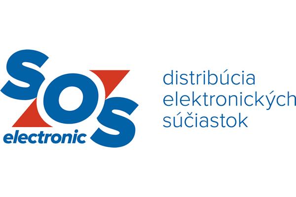 SOS electronic Logo Vector PNG