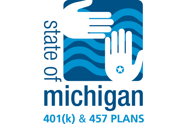 State of Michigan 401(k) & 457 Plans Logo Vector PNG