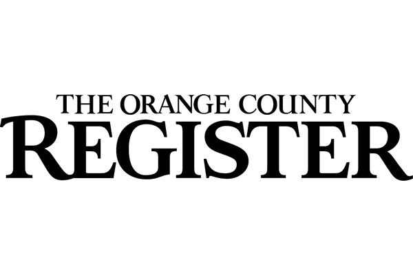 The Orange County Register Logo Vector PNG