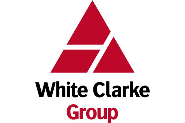 White Clarke Group Logo Vector PNG