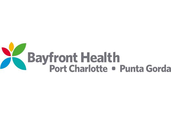 Bayfront Health Port Charlotte & Punta Gorda Logo Vector PNG