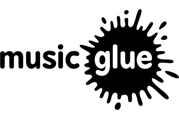 Music Glue Logo Vector PNG