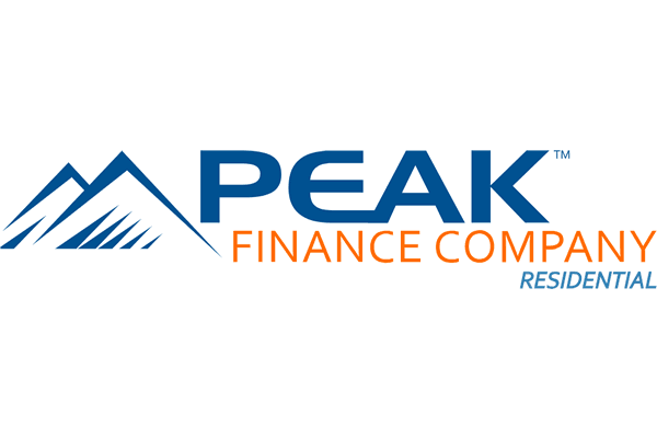 Peak Finance Company Logo Vector PNG