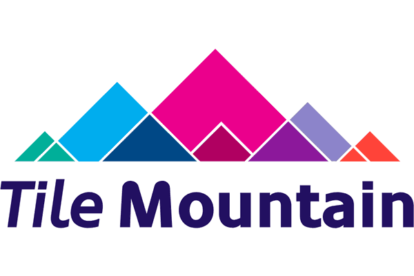 Tile Mountain Logo Vector PNG
