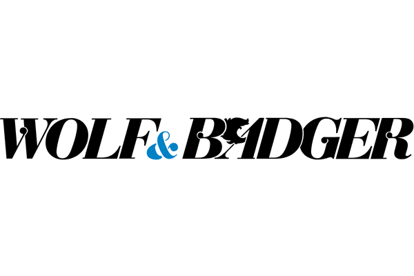 Wolf & Badger Logo Vector PNG