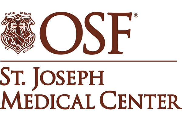 OSF St. Joseph Medical Center Logo Vector PNG