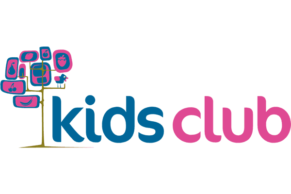 Kids Club Logo Vector PNG