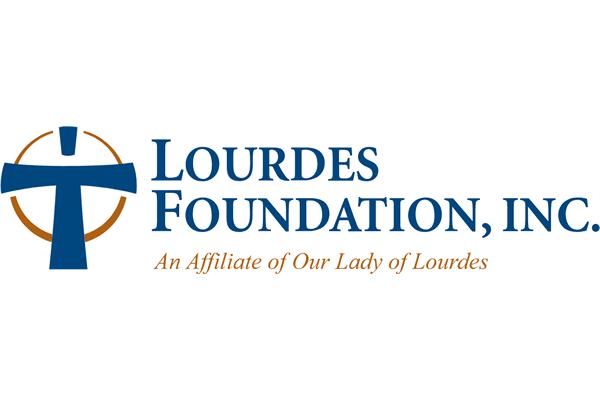 Lourdes Foundation Inc Logo Vector PNG