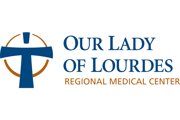 Our Lady of Lourdes Regional Medical Center Logo Vector PNG