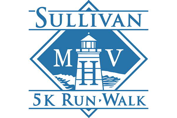 MHV SULLIVAN 5K RUN, WALK Logo Vector PNG