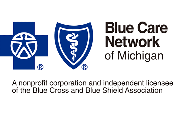Blue Care Network of Michigan Logo Vector PNG