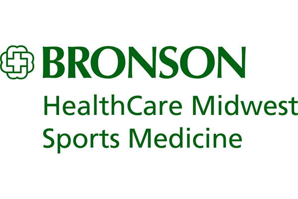 BRONSON HealthCare Midwest Sports Medicine Logo Vector PNG