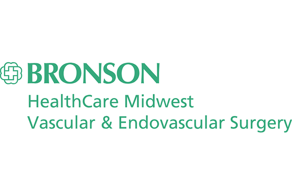 BRONSON HealthCare Midwest Vascular & Endovascular Surgery Logo Vector PNG