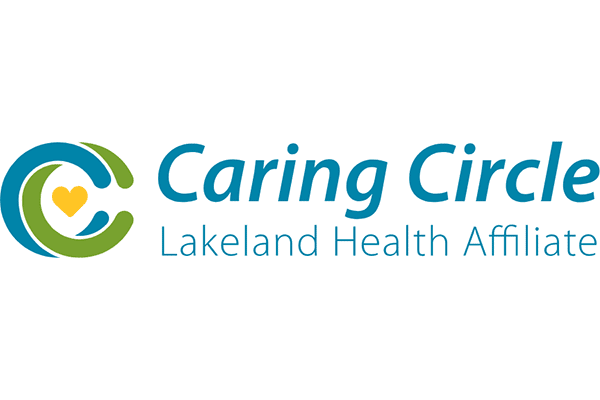Caring Circle Lakeland Health Affiliate Logo Vector PNG