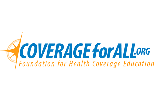 Foundation for Health Coverage Education (FHCE) CoverageForAll.org Logo Vector PNG