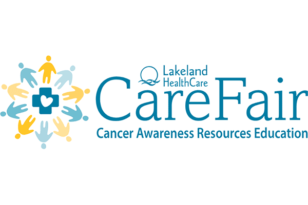 Lakeland Healthcare CARE Fair Cancer Awareness Resources Education Logo Vector PNG