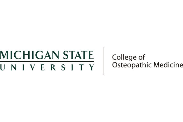 MICHIGAN STATE UNIVERSITY College of Osteopathic Medicine Logo Vector PNG