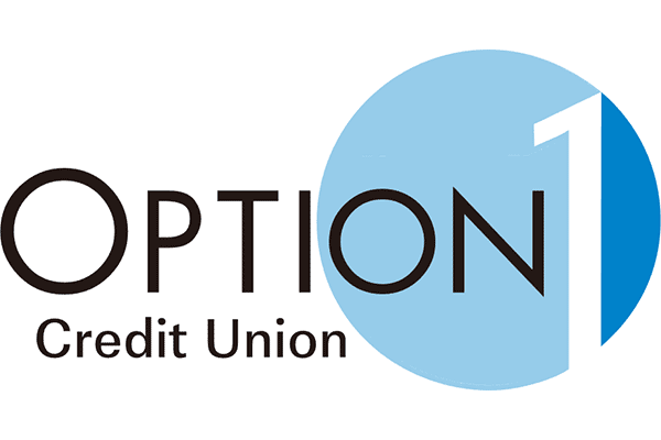 Option 1 Credit Union Logo Vector PNG