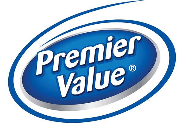Premier Value Logo Vector PNG