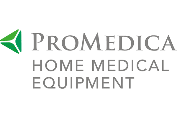 ProMedica Home Medical Equipment Logo Vector PNG