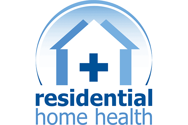 Residential Home Health Logo Vector PNG