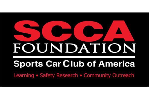 SCCA (Sports Car Club of America) Foundation Logo Vector PNG