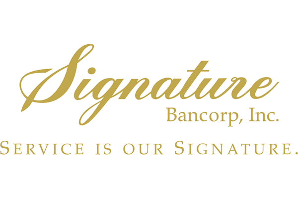 Signature Bancorp Inc Logo Vector PNG
