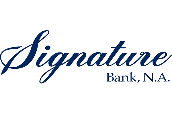 Signature Bank Logo Vector PNG
