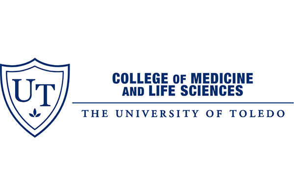 The University of Toledo College of Medicine and Life Sciences Logo Vector PNG