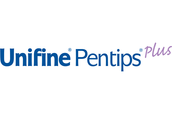 Unifine Pentips Plus Logo Vector PNG