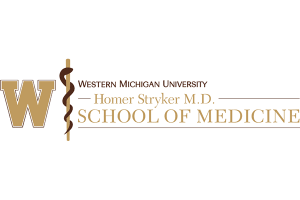 Western Michigan University Homer Stryker M.D. School of Medicine Logo Vector PNG