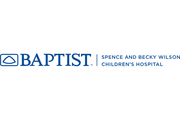 Baptist Spence and Becky Wilson Baptist Children's Hospital Logo Vector PNG