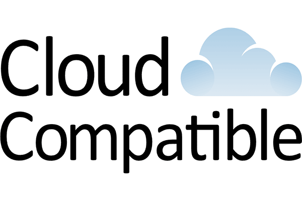Cloud Compatible Logo Vector PNG