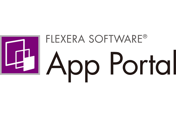 FLEXERA SOFTWARE App Portal Logo Vector PNG