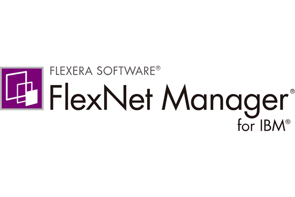 FLEXERA SOFTWARE FlexNet Manager for IBM Logo Vector PNG