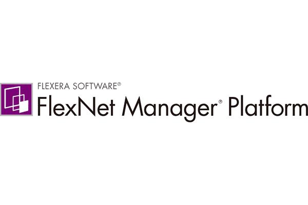 FLEXERA SOFTWARE FlexNet Manager Platform Logo Vector PNG