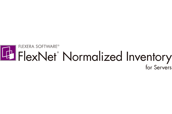 FLEXERA SOFTWARE FlexNet Normalized Inventory for Servers Logo Vector PNG