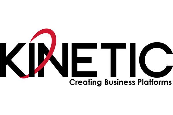 KINETIC Creating Business Platforms Logo Vector PNG