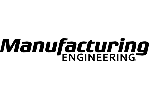 Manufacturing Engineering Magazine Logo Vector PNG