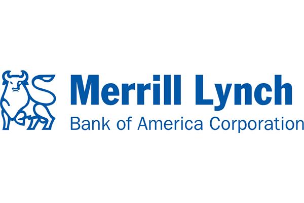 Merrill Lynch Bank of America Corporation Logo Vector PNG