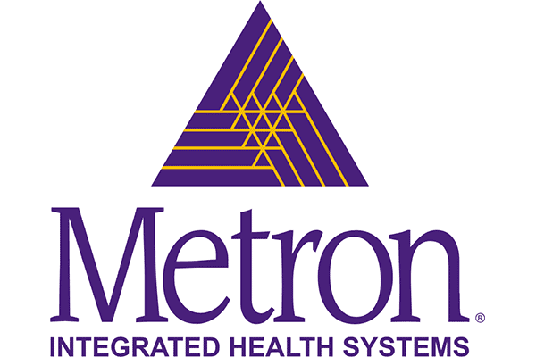 Metron Integrated Health Systems Logo Vector PNG