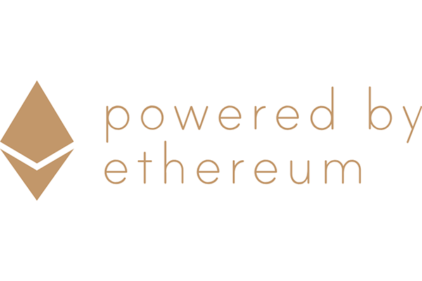 Powered by Ethereum Logo Vector PNG