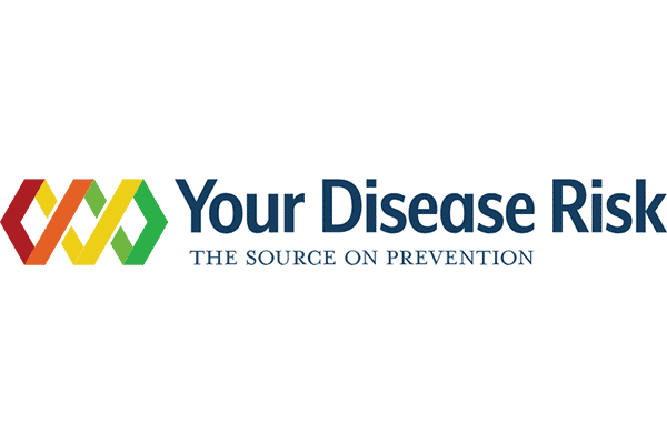 Your Disease Risk Logo Vector PNG