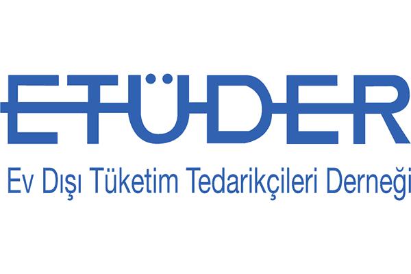 Ev Dışı Tüketim Tedarikçileri Derneği (ETÜDER). Logo Vector PNG